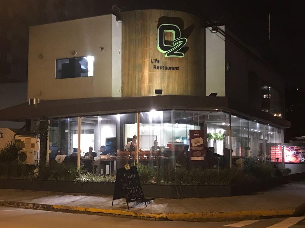 restaurante O2 Itajaí