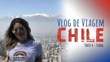 Vlog de Viagem – Chile: Troca da Guarda, Cerro San Cristobal e Parque Arauco