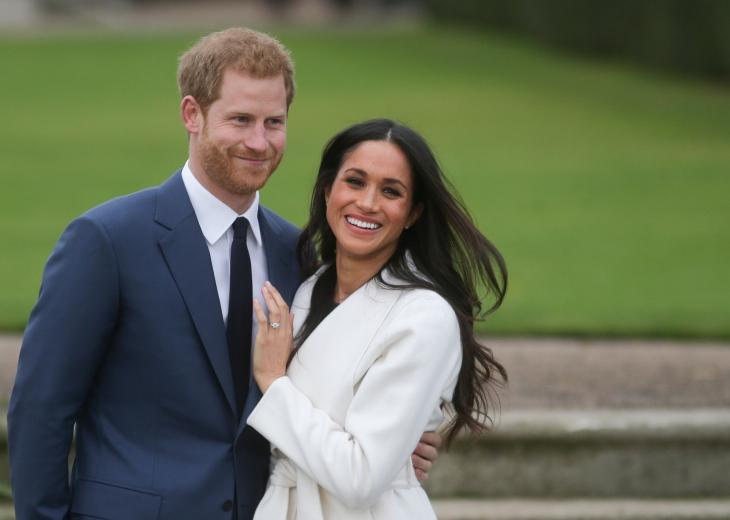 Meghan Markle se casará com o Príncipe Harry em maio de 2018.